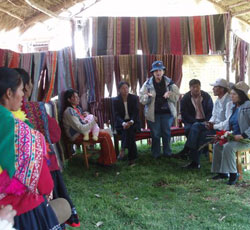textile producers in Peru